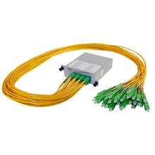 M4 DUAL 1X16 POL SPLITTER- SC/APC CONNECTORS- 1M PIGTAILS