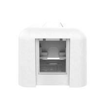 HDJ Plastic Surface Mount Box - Single Port - Cloud White