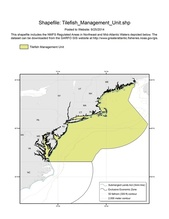 This is the chart for the Tilefish Management Unit.