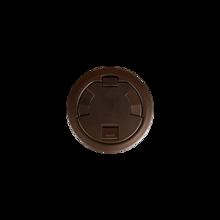 6CT Evolution™ Poke Thru Surface Style Cover, Tamper-Resistant, Bronze
