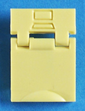 Colored Designation Shutters protect while marking jack Data (package of 100)