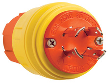 SteriGuard™ Turnlock Plug 20A, 3Φ250V
