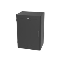 8RU Vertical Wall-Mount Cabinet -  Full Door -  36 in H