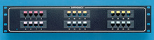 24-port voice/data panel - std density - mod to 110 - 19 in x 3.5 in