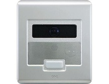 Selective Call Intercom Video Door Unit, Brushed Stainless