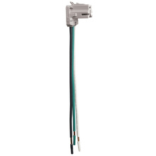 NAFTA-Compliant PlugTail® Connectors, Right Angle, Stranded, 6''
