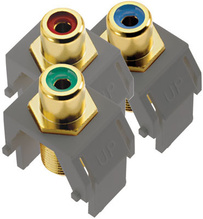 Component Video RCA to F Kit, Magnesium