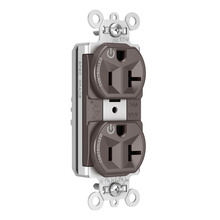 PlugTail® Heavy-Duty Spec Grade Plug Load Controllable Receptacle, 20A, 125V, Brown