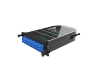M4 SPLICE CASSETTE- 12 FIBER- LC ANGLED DUPLEX- OS2