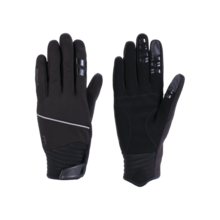 L BBB Controlzone Winter ControlZone Cycling Gloves for Men and Women Red Warm Softshell Winter Gloves