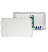 "8"""" MDU Enclosure Kit (enclosure, cover, 6 way phone, 4 way video)"