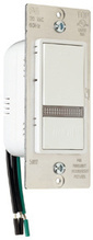 500W, 15A Emergency Decorator Home Locator Switch, White