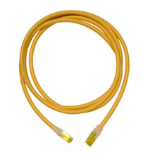 Clarity 6A modular patch cord, 15', yellow