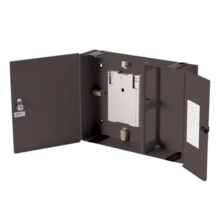 4 Panel High Density Wall Mount Fiber Enclosures