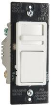Wide Slide TradeMaster Single-Pole/3-Way, Preset CFL/LED Slide Dimmer, 3 Interchangeable Face Plates