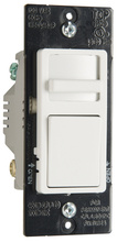 Wide Slide TradeMaster Single-Pole/3-Way, Preset CFL/LED Dimmer, White