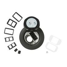 4AT Prewired Dual Service Style Evolution™ Poke-Thru Device-Gray