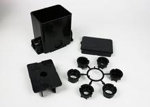 ModulinkTM 880MP Series Rectangular Plastic Floor Box