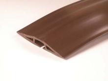 Corduct 5' Overfloor Cord Protector, Brown