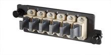 Infinium HDFP MPO Adapter Panel, 6 MPO, Beige