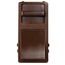 Preset Wide Slide TradeMaster Interchangeable Face Cover, Brown