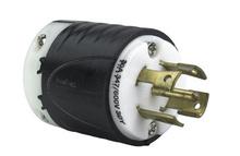 30 Amp L2330 Plug - Black Back, White Front Body