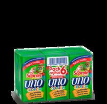 Soprole Uno Colación Sabor Frutilla pack 6