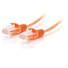 15ft Q-Series Slim Snagless Cat 6 Unshielded (UTP) Ethernet Network Cable - Orange