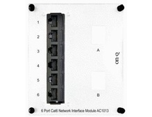 6-Port Cat 6 Network Interface Module