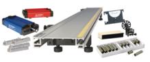 Standard Metal Cart Metal Track 1.2 m System