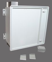 CZE Ceiling Zone Cabling Enclosure for Mounting Patch Panels - CZE-242412PP