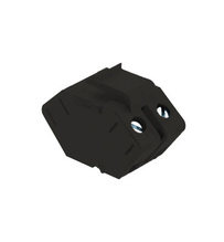 Single Keystone Speaker Insert, Black
