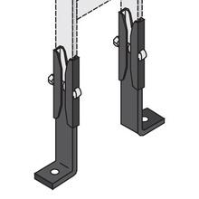 1R-0339-ZN-BK RUNWAY FLOOR/WALL SUPP BRACKET KIT