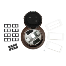 Evolution 6AT2P Series Recessed Prewired Assembly with Flush Style Cover