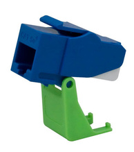 Snap and Go Cat 5e Keystone Connector, Blue