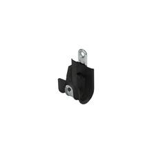 1'' Basic Black Plastic Coated J-Hook w/ Latch Box of 25 [F000661]