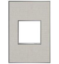 adorne® True Linen One-Gang Screwless Wall Plate
