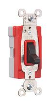 PlugTail® Single Pole 15 amp Toggle Switch, Black