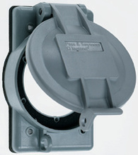 Thermoplastic Weatherproof Covers for Flanged Inlet/Outlet