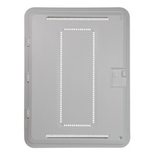 PLASTIC 20 IN ENCL W/TRIM & HINGED COVER