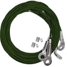 SEISMIC CABLE BRACE - #12 4-Way 3/8'' 20' Kit [945076]