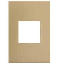 adorne® Golden Sands One-Gang Screwless Wall Plate