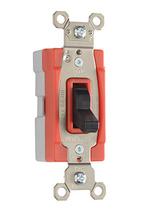 PlugTail® Three-Way 20 amp Toggle Switch, Black