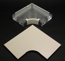 4000 Radiused Full Capacity Flat Elbow Fitting