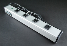 Plug-In Outlet Center Unit / 120V/15A/4 O/L /15' cord