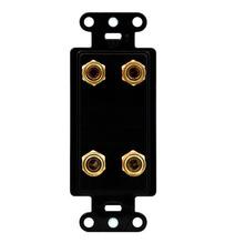 Universal Dual Speaker Strap, Black