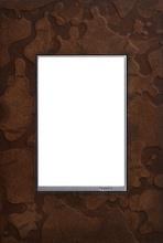Hubbardton Forge® Bronze, 1-Gang+ Wall Plate