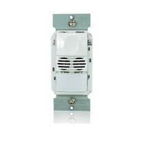 Dual Tech Wall Switch Occupanc y Sensor, 347V, Black