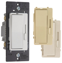 Harmony® Incandescent Single Pole/3-Way Dimmer Switch, 3 Interchangeable Face Colors