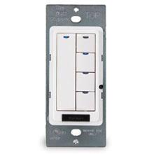 DLM Wall Switch, 5-Button w/IR, Ivory, USA